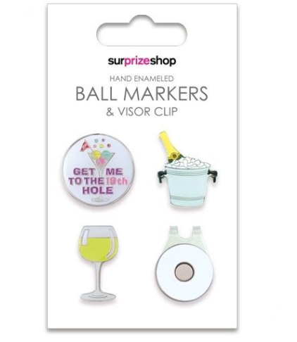 SURPRIZE SHOP Ball Markers Boozy