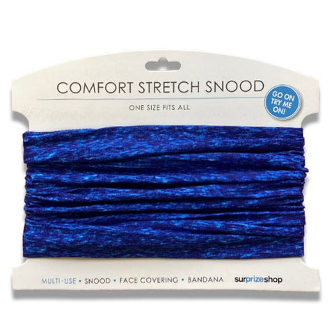 Stretch Snood / Face Covering Royal Blue