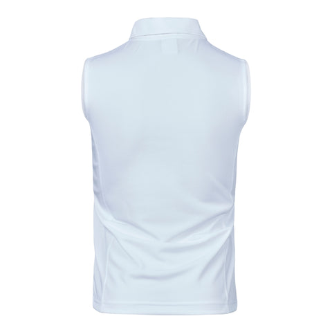 DAILY SPORTS Macy Sleeveless Polo 100 White
