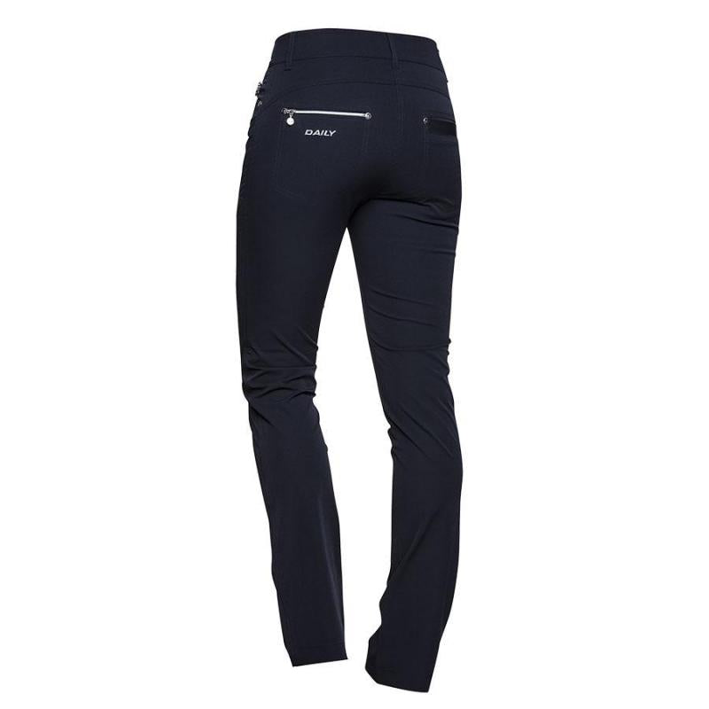 DAILY SPORTS Miracle Trousers 221 Navy 34 inch