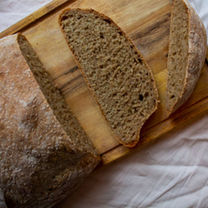Delicious high protein bread made with insect flour