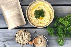 Hummus with Insect Powder