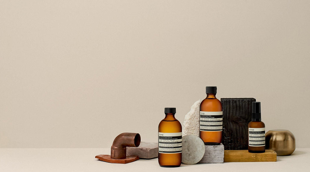 Sustainable presents aesop products