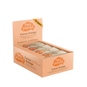 Hey Planet Cocoa Orange Protein Bar