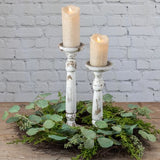 Distressed Candle Sticks