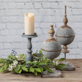 Gray Candlestick