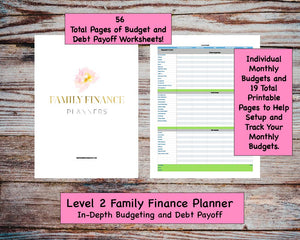 Family Finance Planner - Level 2