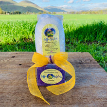 The 3 in 1. The Universal Gift!!! Luffa+Exfoliating Pad+Lavender Soap!