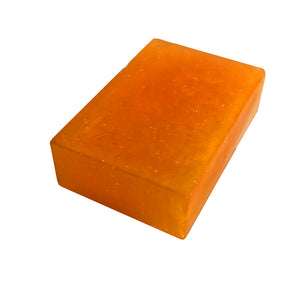 """ORANGE PEEL CYBILLA"" Handmade Moisturizing Soap 4oz Bar"