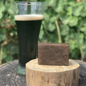 """OATMEAL STOUT"" Handmade Moisturizing Soap 4oz Bar"