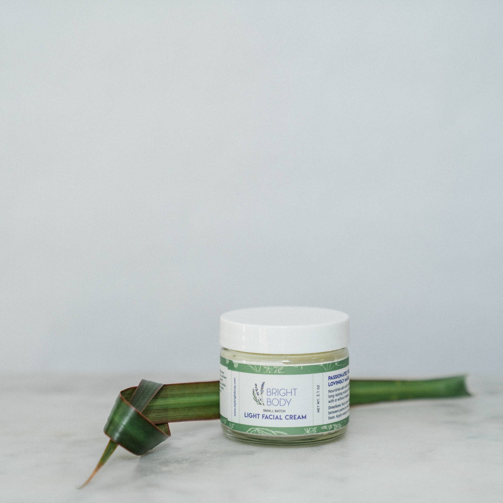 Light Facial Cream Organic Moisturizer