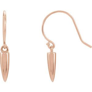 Gold Drop Earrings - amorier