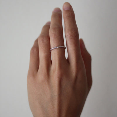 Braided Rope Ring - amorier