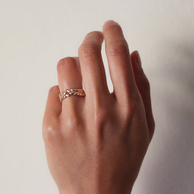 Leaf Crown Ring