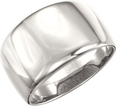 Continuum Sterling Silver Dome Ring - amorier