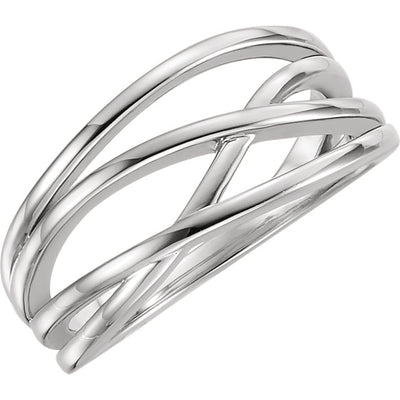 Criss-Cross Ring - amorier
