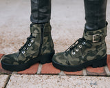 Totally Chic Boot - Camo