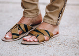 Stopping Traffic Sandal