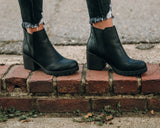 Totally Cute Booties - BLK