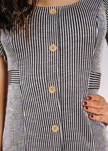 Chic Escape Striped Dress