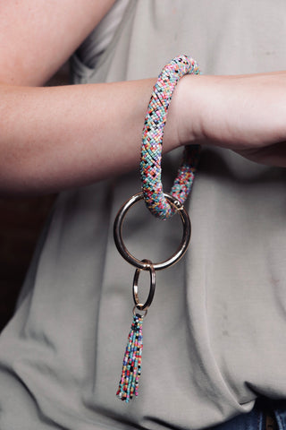 Beaded Keychain - Multi