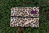 Medium Makeup Junkie Bag - Cheetah