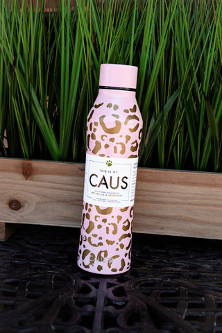 CAUS Curved Bottle - Leopard