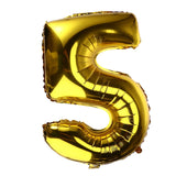 Entertainment 32 inch Thickened Helium Foil Balloons Birthday Number Balloons
