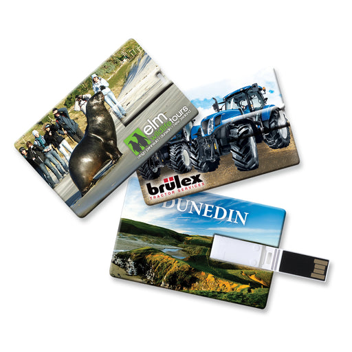 Credit Card Flash Drive - 2GB, 4GB, 8GB or 16GB