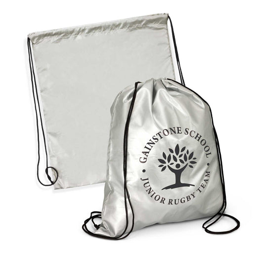 Titanium Drawstring Bag