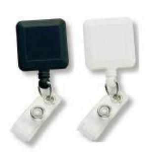 Square Retractable Badge Holder
