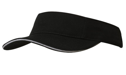 Brushed Cotton Visor