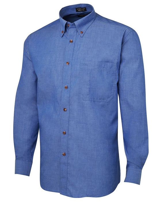 The Indigo Chambray Shirt