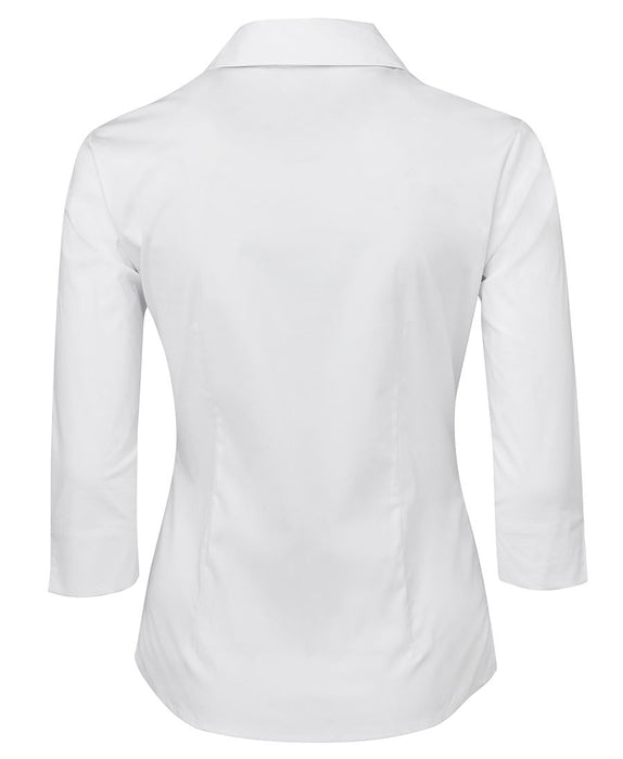 Ladies Fitted 3/4 Sleeve Shirt