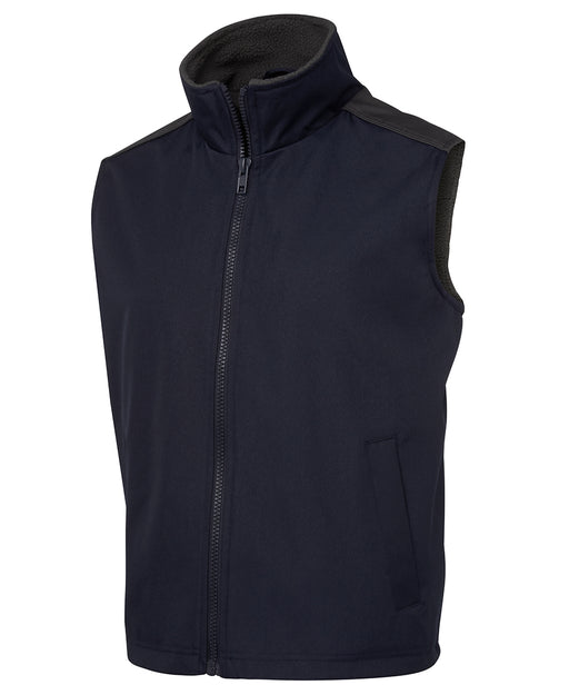 Waterproof Vest with Fleece Lining