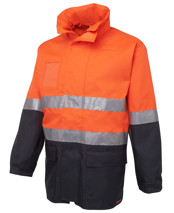 Hi Vis Fleece Lined Safety Jacket - Reflective Tape