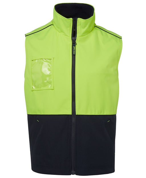 Hi Vis Fleece Lined Safety Vest