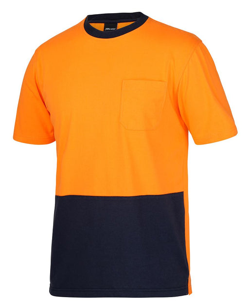 Hi Vis 100% Cotton T-Shirt