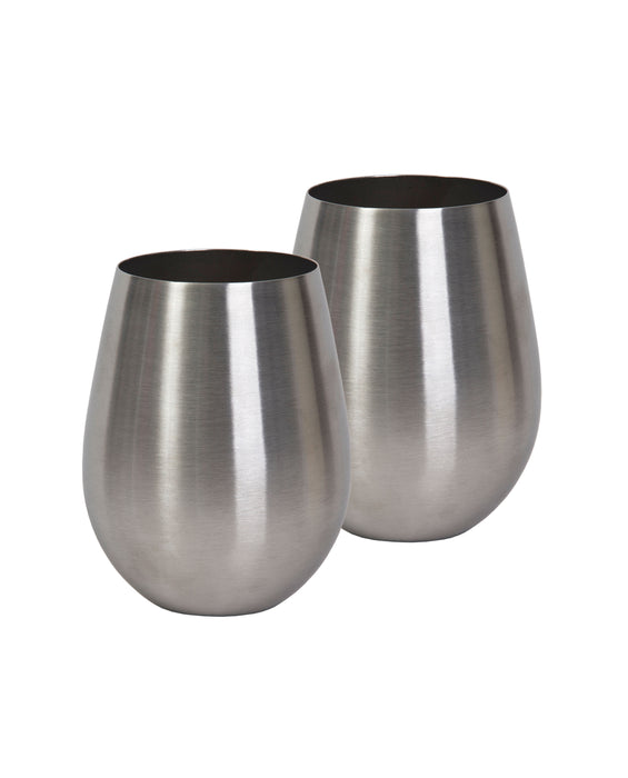 Stemless Stainless Wine Vessel