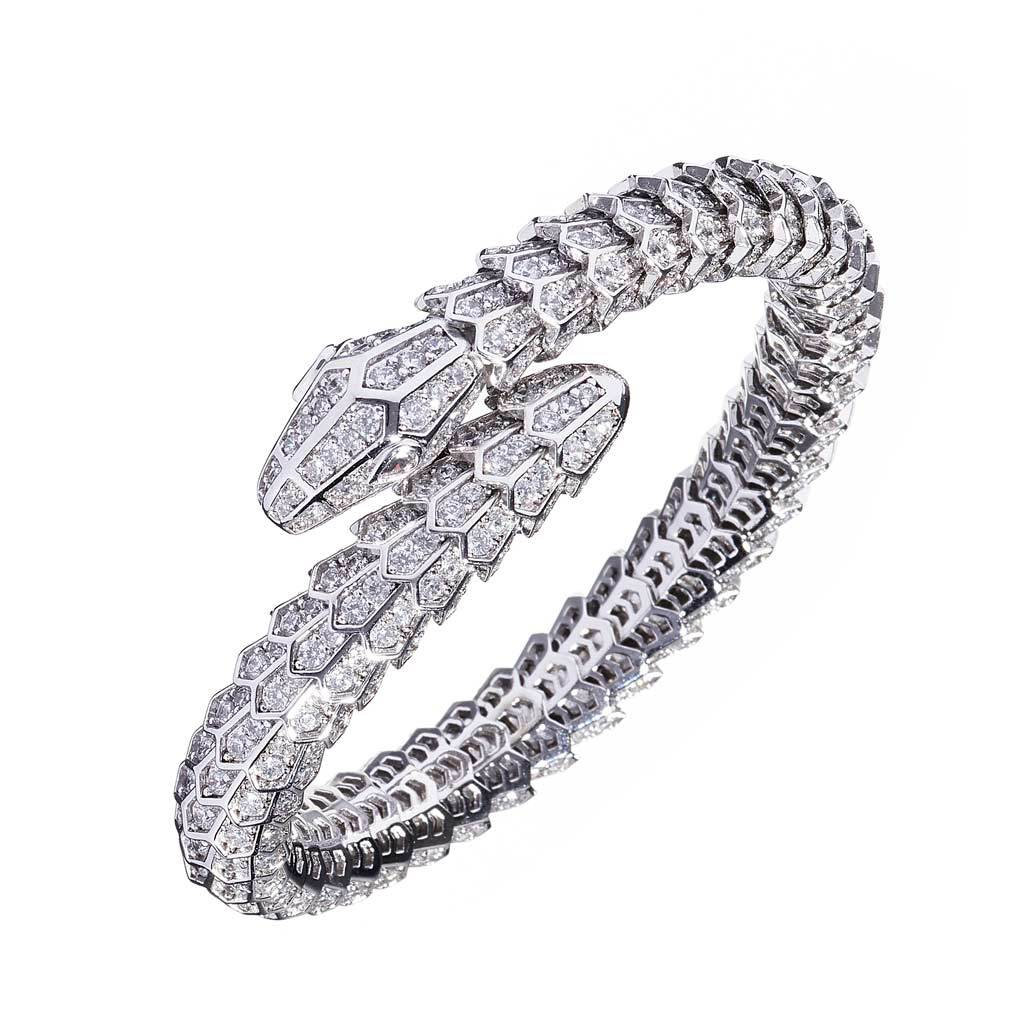 Adley One-Coil Snake Bracelet