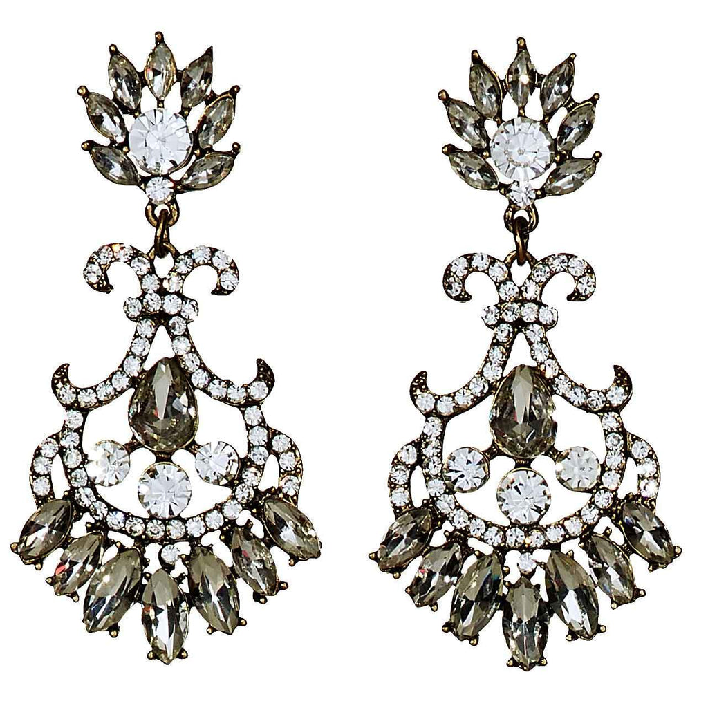Rachelle Vintage Chandelier Earrings