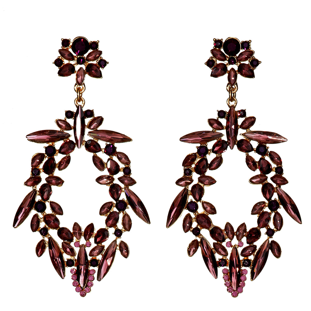 Fiona crystal chandelier earrings on rent in manhattan ny rcr fiona crystal chandelier earrings on rent in manhattan ny rcr red carpet rocks aloadofball Images