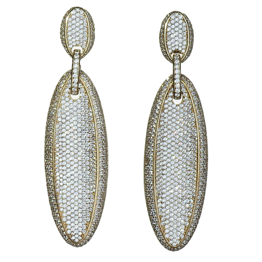 Vivica Linear Statement Earrings