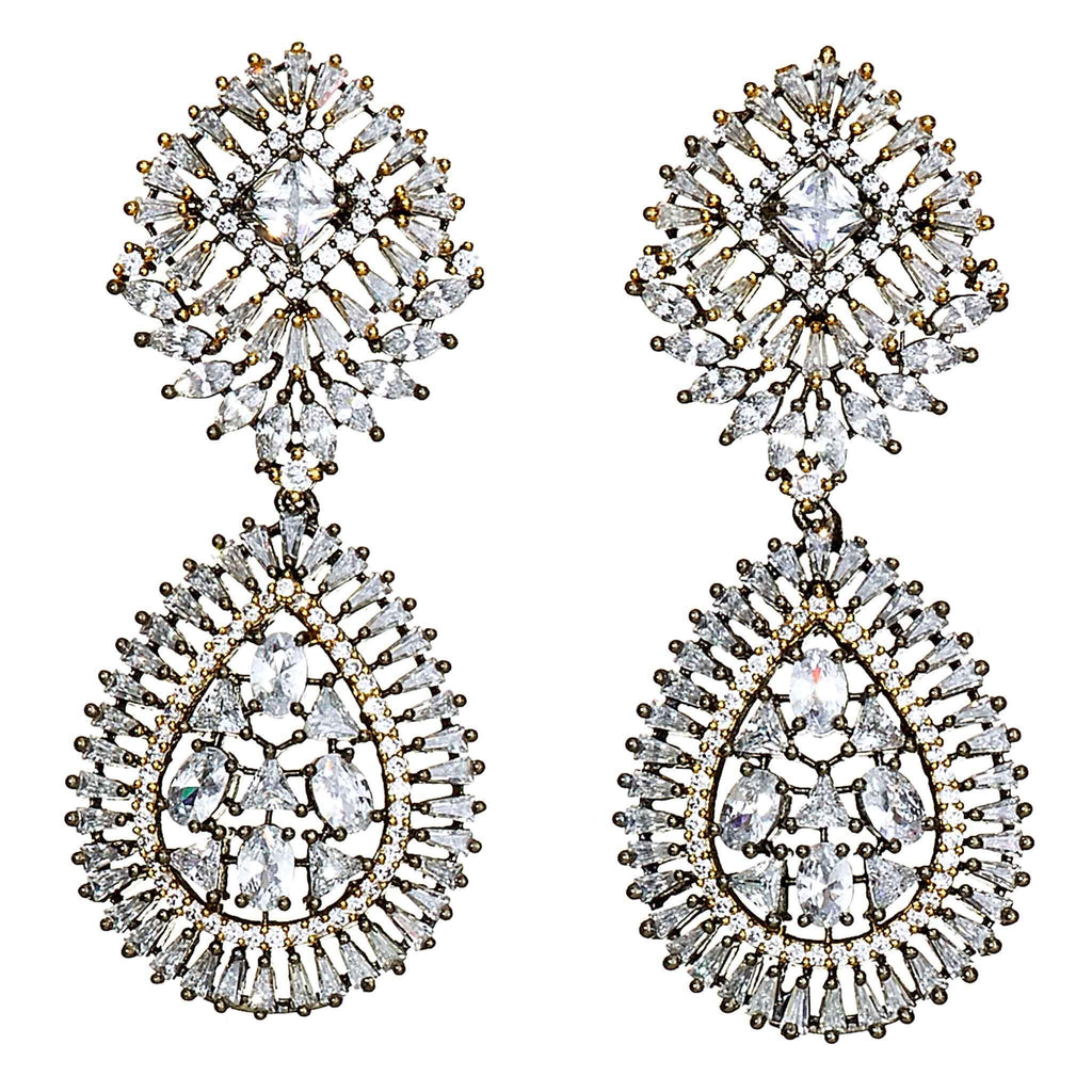 Freida Vintage Chandelier Earrings