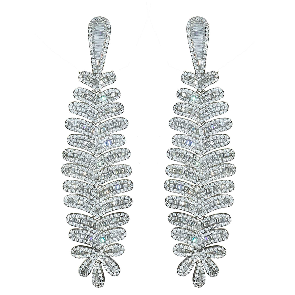 Cara Crystal Chandelier Earrings