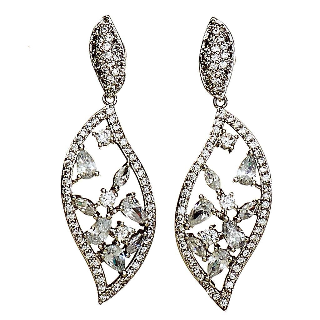 Diane Crystal Drop Earrings