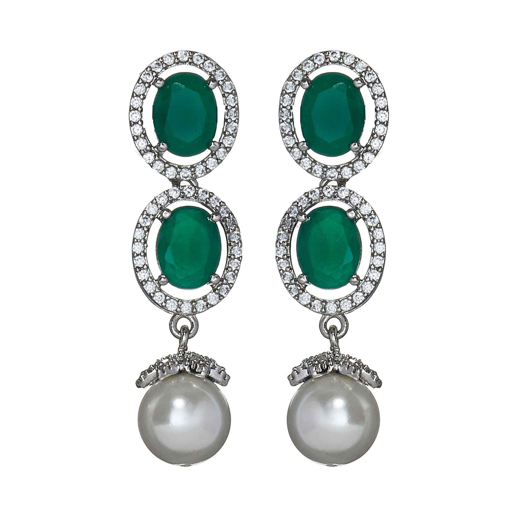 Eve Jade Drop Earrings