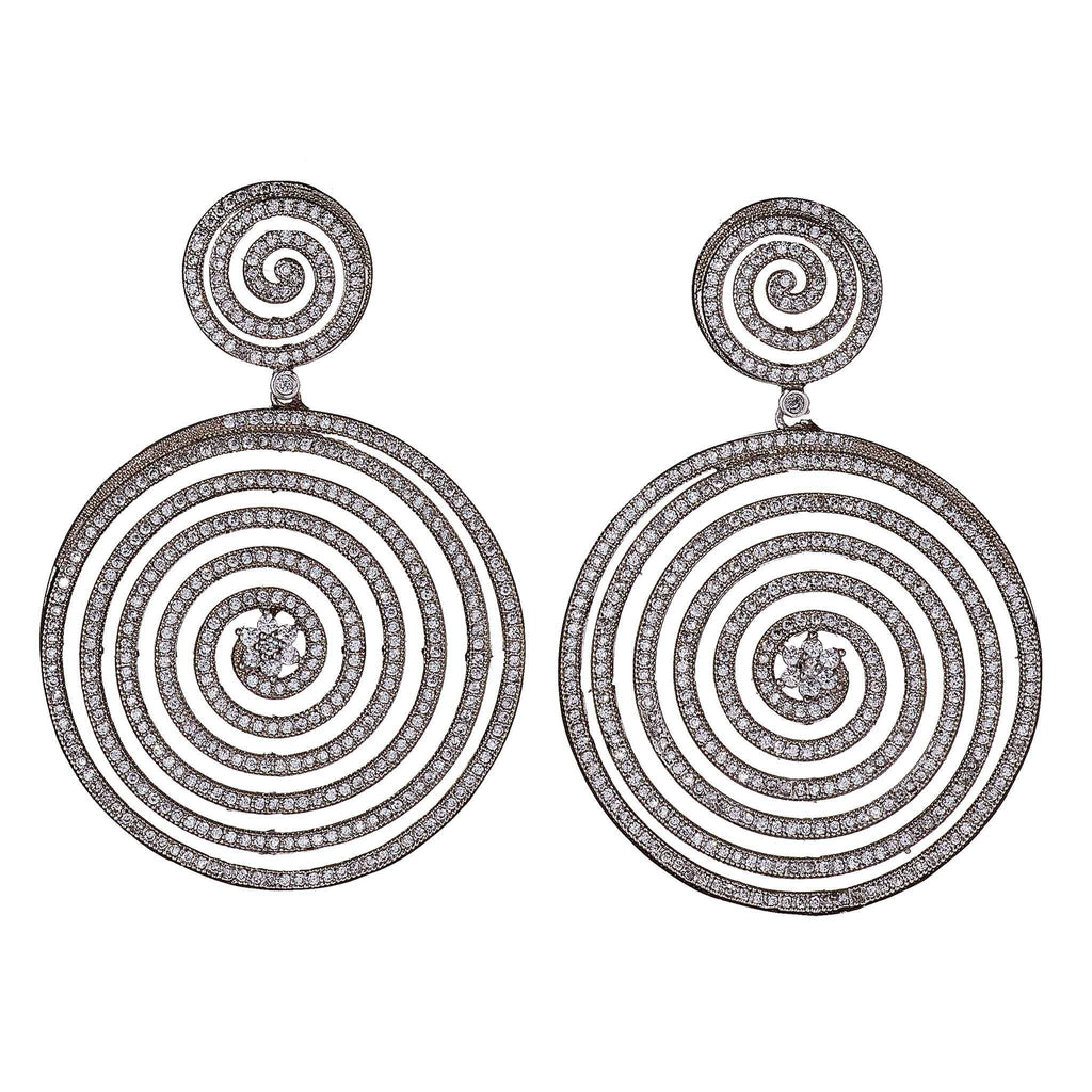 Gale Circular Statement Earrings