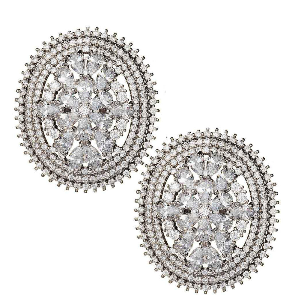 Jonelle Crystal Stud Earrings