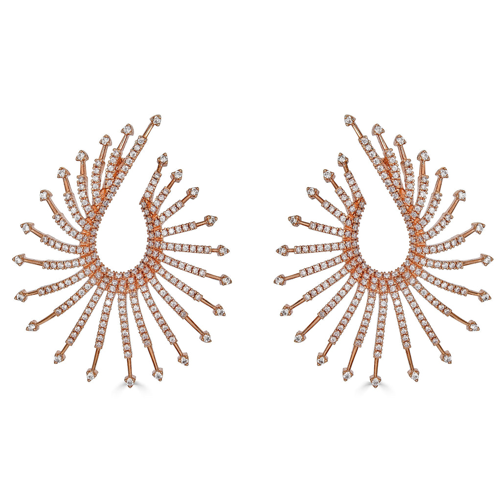 Rowan Front-to-back Earrings